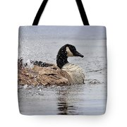 Splish Splash - Canada Goose Tote Bag