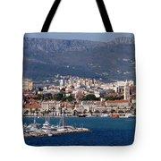 Split Croatia's Waterfront Tote Bag