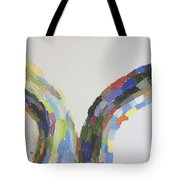 Split Decision Tote Bag
