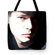 Split Face Tote Bag