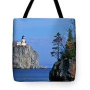 Split Rock Lighthouse - Fs000120 Tote Bag