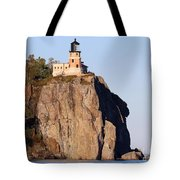 Split Rock Lighthouse Crop 9321 Tote Bag