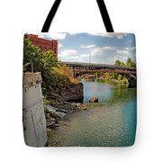 Spokane River Tote Bag