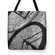Spoke Shadows Tote Bag
