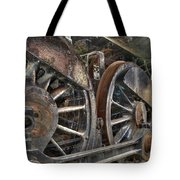 Spokes Of The Past Tote Bag