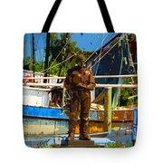 Sponge Diver Tote Bag