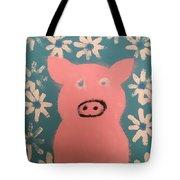 Sponge Pig Tote Bag
