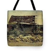 Spooky Broken House Tote Bag