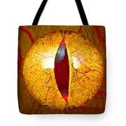 Spooky Cat Eye Tote Bag
