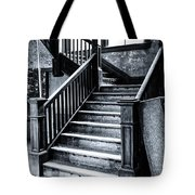 Spooky Grand Staircase Tote Bag