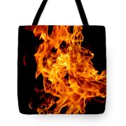 Spooky Hot Spirit Fire Michigan Tote Bag