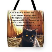 Spooky Quote Tote Bag