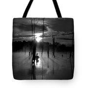 Spooky Sunrise Tote Bag