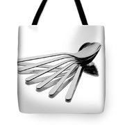Spoon Fan Tote Bag