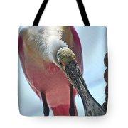 Spoonbill Tote Bag