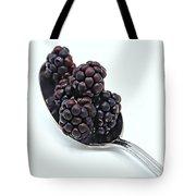 Spoonful Of Blackberries Tote Bag