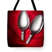 Spooning In Two Course Tote Bag