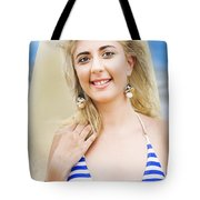 Sport And Exercise Tote Bag