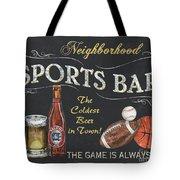Sports Bar Tote Bag