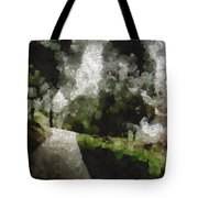 Spot Light On A Fight On A Lone Path Tote Bag