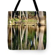 Spot The Swan Family Tote Bag by Kaye Menner