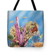 Spotlight Parrotfish Tote Bag