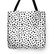 Spots Tote Bag by Rachel Follett
