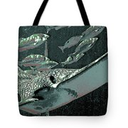 Spotted Eagle Ray Tote Bag