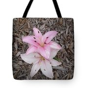 Spotted Pink Tote Bag