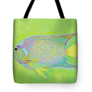 Spotted Tropical Fish Tote Bag