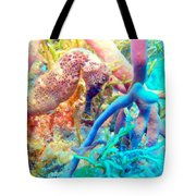 Spotty Seahorse Tote Bag