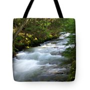 Sprague Creek Glacier National Park 2 Tote Bag