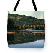 Sprague Lake At Dusk Rocky Mountain National Park Tote Bag