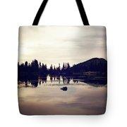 Sprague Lake At Sunset Tote Bag