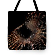 Spray Of Gold Tote Bag