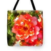 Spread Petals Of A Red Rose Tote Bag
