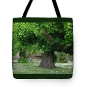 Spreading Chestnut Tree Tote Bag