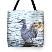 Spreading My Wings Hdr Tote Bag