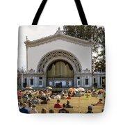 Spreckels Organ Pavilion Concert - San Diego Tote Bag