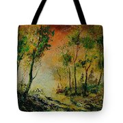 Sprin In Wood 45 Tote Bag
