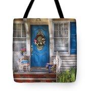 Spring - Door -  A Bit Of Blue  Tote Bag