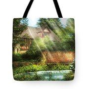 Spring - Garden - The Pool Of Hopes Tote Bag