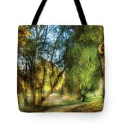 Spring - Landscape - My Journey My Path Tote Bag by Mike Savad