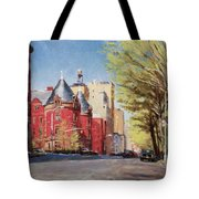 Spring Afternoon, Central Park West Tote Bag