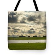 Spring Along The Shubenacadie River Tote Bag