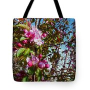 Spring Apple Blossoms- Spring Flowers Tote Bag