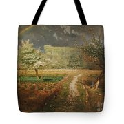 Spring At Barbizon Tote Bag by Jean Francois Millet