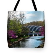 Spring At Crystal Bridges Tote Bag