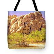 Spring At Joshua Tree Tote Bag