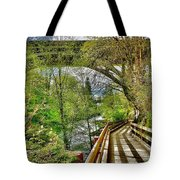 Spring At The Falls Tote Bag